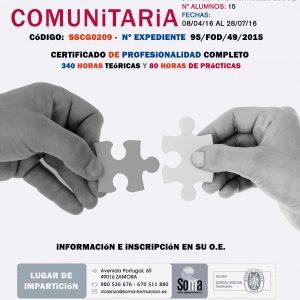 CURSO MEDIACIÓN COMUNITARIA 2016 SOMA FORMACIÓN